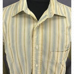 4b85f1e4345c Burberry Shirts - Burberry London Summer Shirt Yellow Stripe